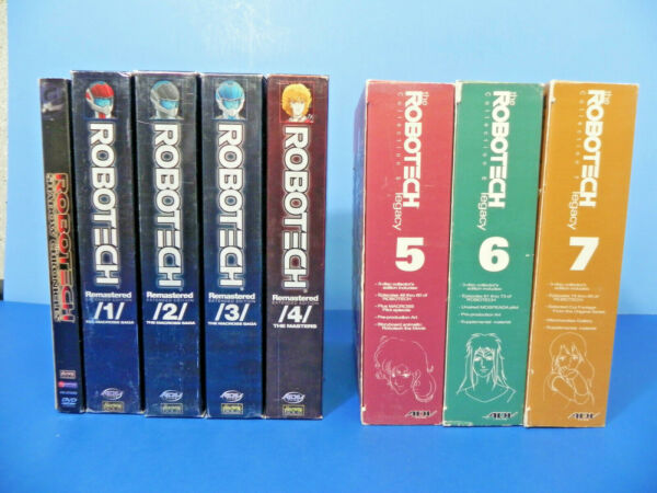 Robotech Dvd Lot Entire Series + Shadow Chronicles Remastered & Legacy Sets