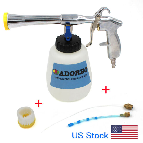 ADORBO Air Pulse Car Cleaning Gun Auto Detailing Tool TORNADO EFFECT US Plug