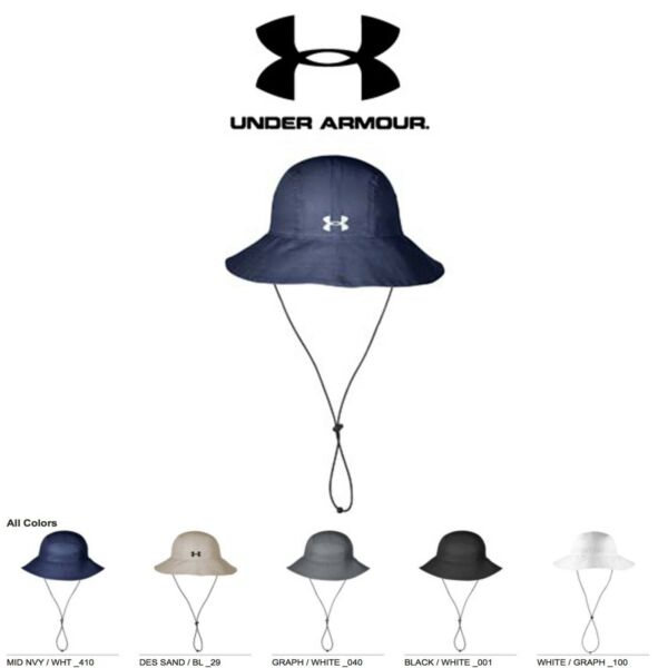 Under Armour Men#x27;s Warrior Bucket Hat Brand New with Tags Golf Cap $29.99