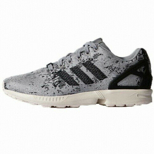 NEW Men's Adidas ZX Flux Weave Moon Surface Running Shoes Onix/Black-Pick Size!