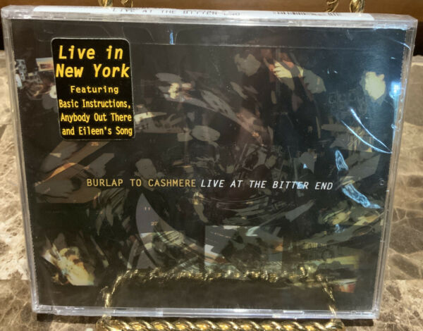 Live at the Bitter End Squint EP by Burlap to Cashmere CD Word...