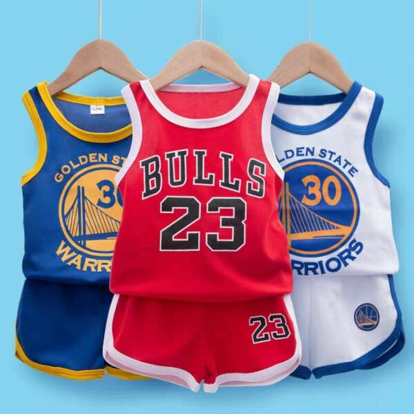 Kids Baby Boys Basketball Clothes Summer Child Boy Sports Outfits Clothes Sets