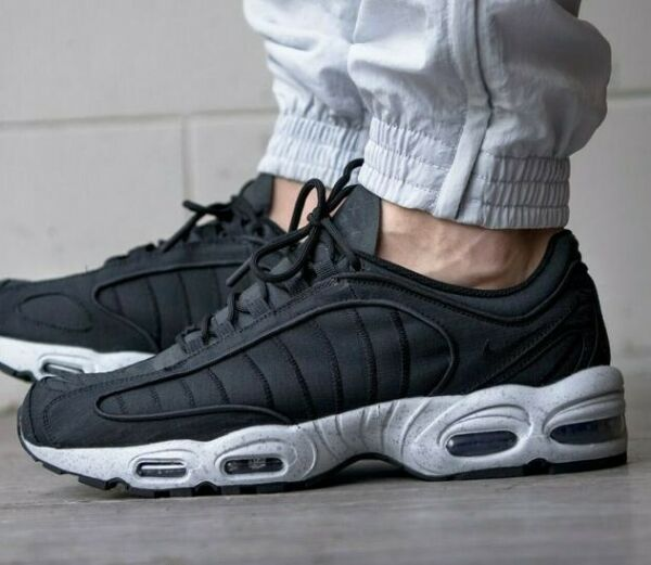 Nike Air Max Tailwind 4 IV SP Men's Black/Grey Casual Shoes Training Sneakers