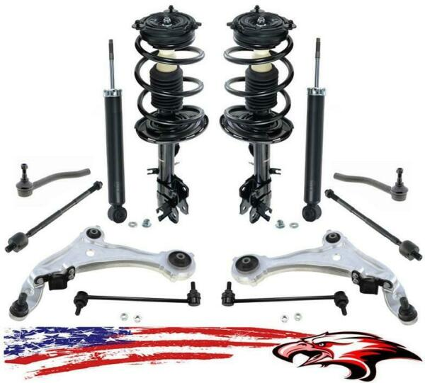Brand New Suspension and Steering Chassis 12pc Kit for Nissan Murano 2009-2014