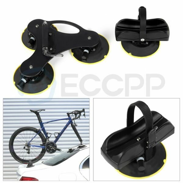 1 set CARRY 1 Bike Roof Rack Suction Bicycle Rooftop Rack Bike Holder Carrier US $124.19