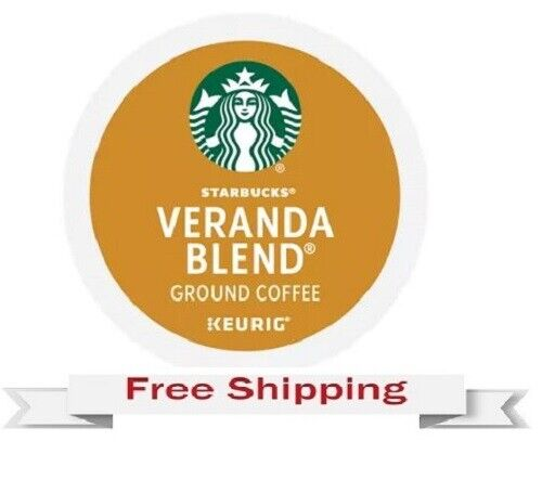 Keurig Starbucks Veranda Blend Coffee K cups 22 Count