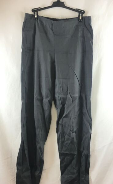 NEW J Jill Granite Easy Linen Stretch Flat Front Pants Size 10 $19.95