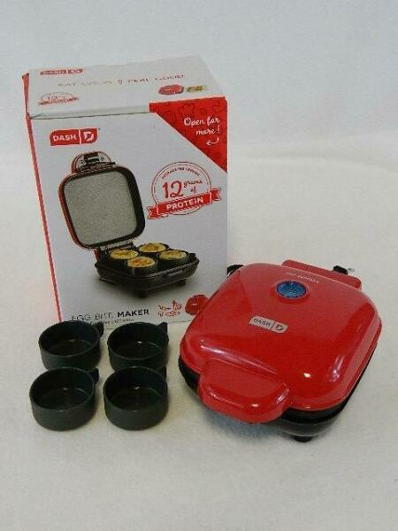 Dash® Egg Bite Maker in Red - Super Convenient And Compact Too $22.85