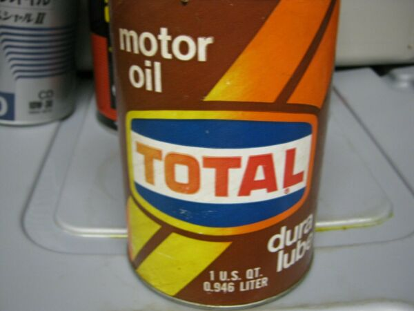 Vintage One Quart Oil Cans Man Cave Collection Total #1
