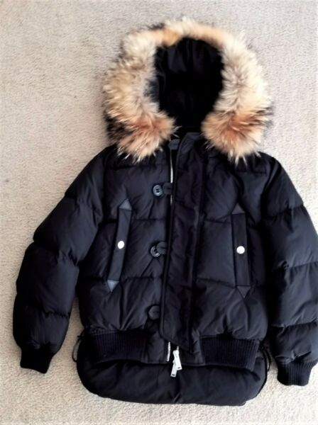 $2200 DSQUARED2 CATEN BROTHERS Down Puffer Jacket XS Small see measurements $899.00