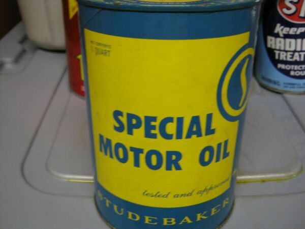 Vintage One Quart Oil Cans Man Cave Collection Studebaker