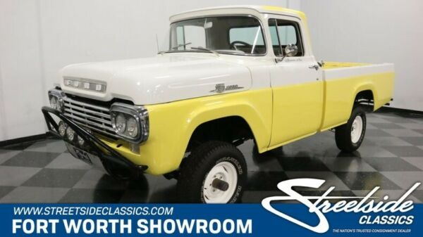 1959 Ford F-100 Custom Cab 4X4 Cool Vintage Ford 4X4! 292 V8 4 Speed Manual Ready for Work or Play!