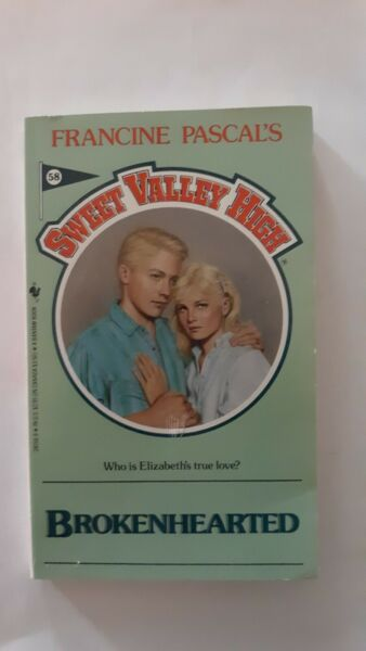 Sweet Valley High Ser.: Brokenhearted by Francine Pascal (1989 Mass Market)