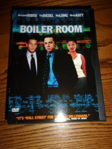 BOILER ROOM DVD WATCHED ONCE $12.99