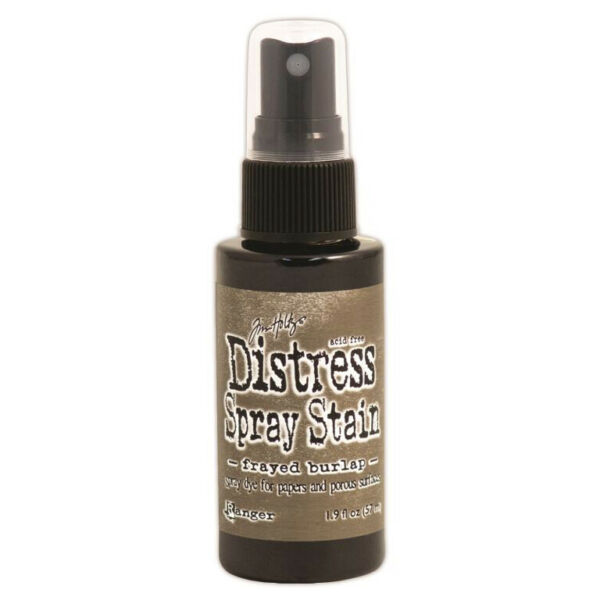 Tim Holtz Distress Spray Stain 1.9oz Frayed Burlap Made in USA