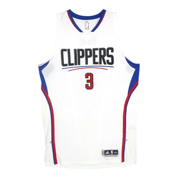 Chris Paul Adidas Los Angeles Clipppers Authentic Rev 30 Pro Cut Jersey 2XL