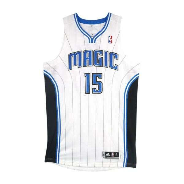 Vince Carter Adidas Orlando Magic Authentic Pro Cut Rev 30 Home Jersey XL