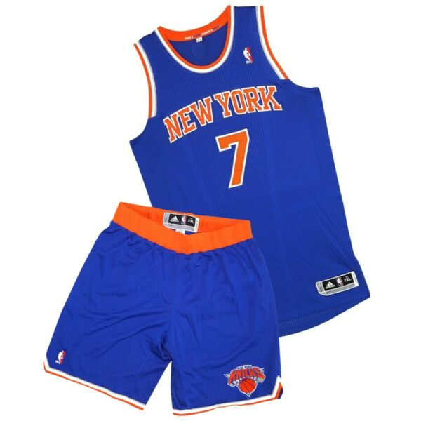 Carmelo Anthony Adidas New York Knick Authentic On-Court Jersey