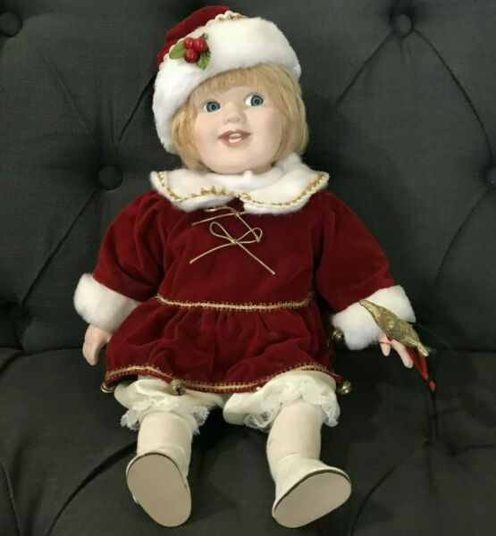 Porcelain Christmas Doll LTD Commodities 14