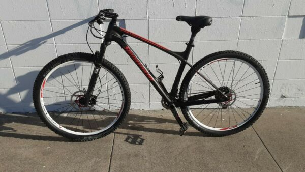Steppenwolf Tundra Carbon team LTD Hardtail mountain bike 29er 18.5 RockShox $2500.00