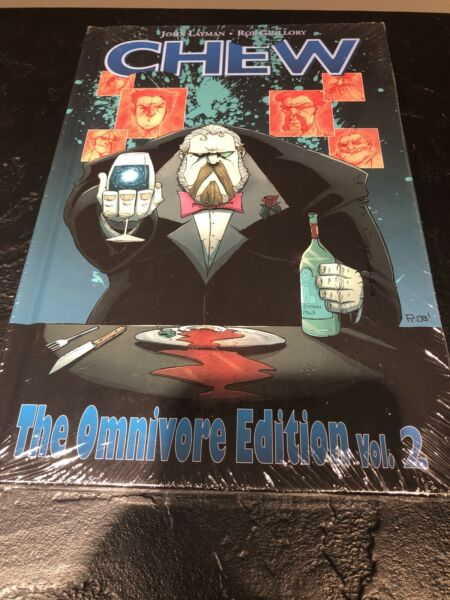 Chew 2 : The Omnivore Edition Hardcover by Layman John; Guillory Rob (ILT)... $20.00