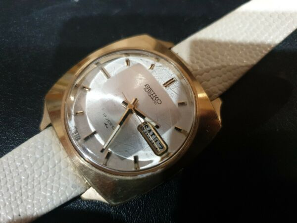 Mens large vintage Seiko Automatic Watch 7006 7120 $48.23