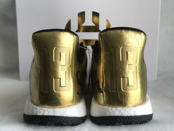Adidas Harden 3 Shoes Gold Rare Ultra Boost 20 Nmd Men's Size 9 10 11 12 G54026