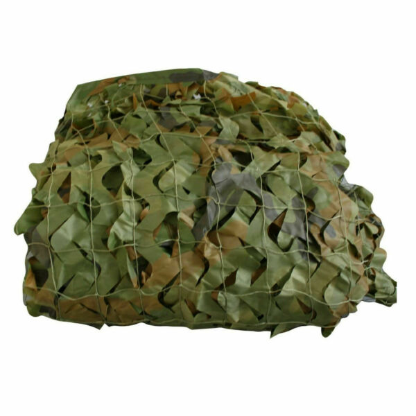 SAS Outdoor Camping Lightweight Camo Netting 4 Sizes Woodland Camouflage