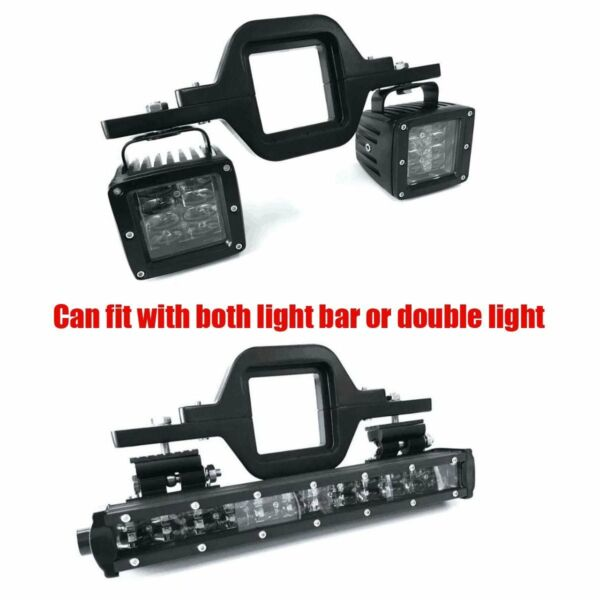 3quot; Tow Trailer Hitch Mounting Bracket Backup Reverse Truck LED Work Light Bar $16.59