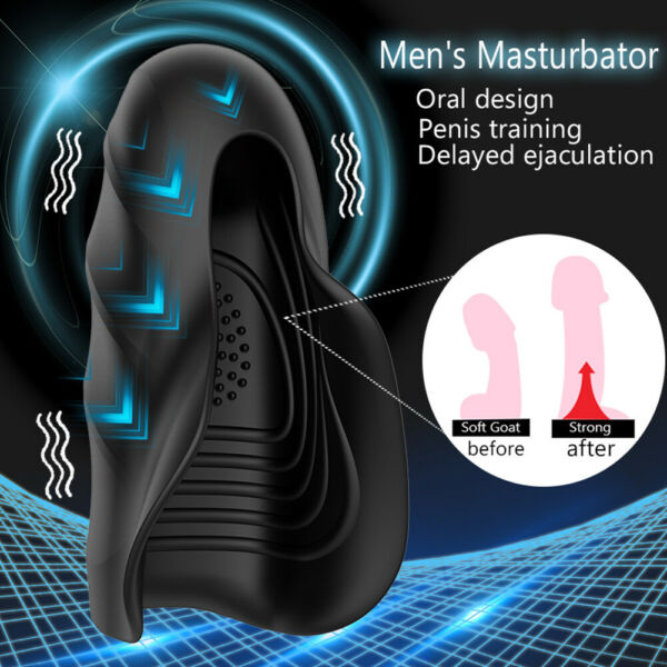 10 Speeds Male Automatic Fully Masturbator Electric For Men Use Massager S $24.83