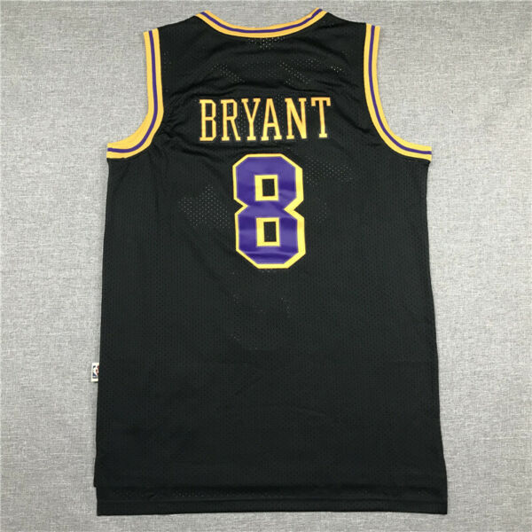 Los Angeles Lakers Retro black Men's Kobe Bryant Jersey