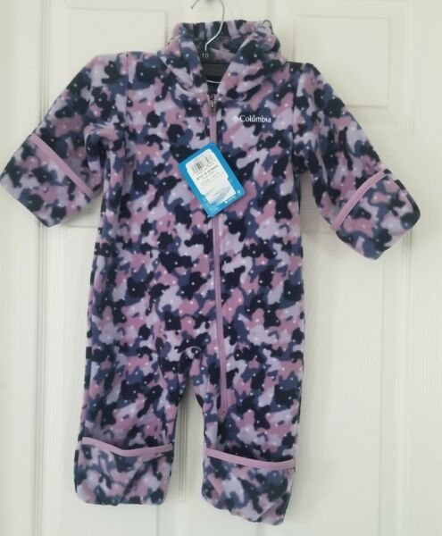 COLUMBIA FIRESIDE CUDDLE BUNTING INFANT SIZE 6 12 MONTHS