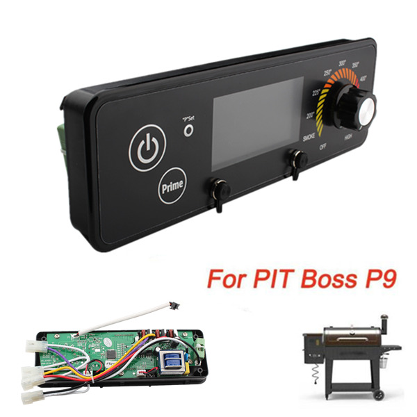 For PIT Boss P9 Wood Oven LCD Display BBQ Digital Thermostat Control Board Black $34.19