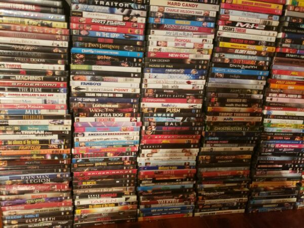 DVD Movies Lot $4-$5 Each! U PICK MOVIE (FREE SHIPPING AFTER 1st DVD) PREMIUM! $5.00