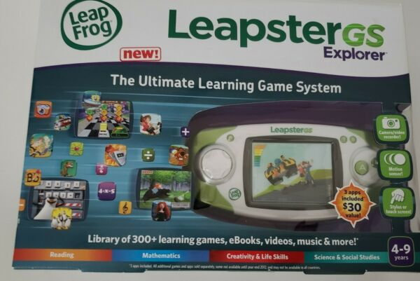 Leap Frog Leapster GS Explorer The ultimate Learning Game. $99.99