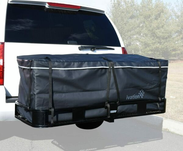 Ivation Hitch Bag 100% Waterproof Large Hitch Tray Cargo Carrier Bag 60quot; x 24quot; $79.99