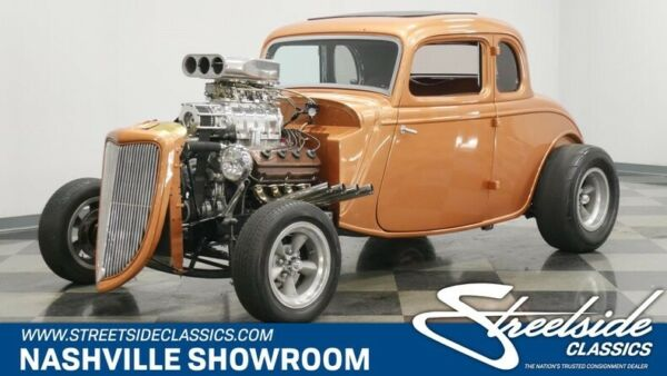 1934 Ford 5-Window  Restored Henry Ford steel body 331ci HEMI with a blower