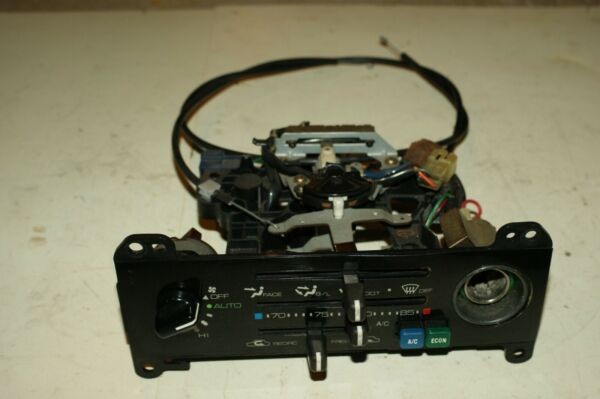 1985 1986 Toyota MR2 Heater AC Control Complete w cables 85 86