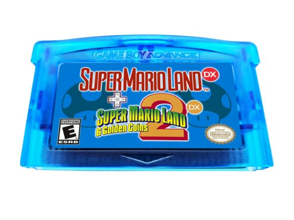 Super Mario Land DX 1 and 2 Combo Multicart Deluxe Nintendo Gameboy Advance GBA $19.99