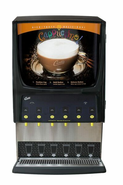 Wilbur Curtis G3 System 6 Station Commercial Cappuccino Machine $2300.00