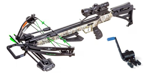 Carbon Express X Force PileDriver 390 Crossbow with Crank 20310