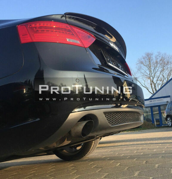 Rear Boot trunk Door spoiler wing trim cover S Line for Audi A5 Sportback $85.46