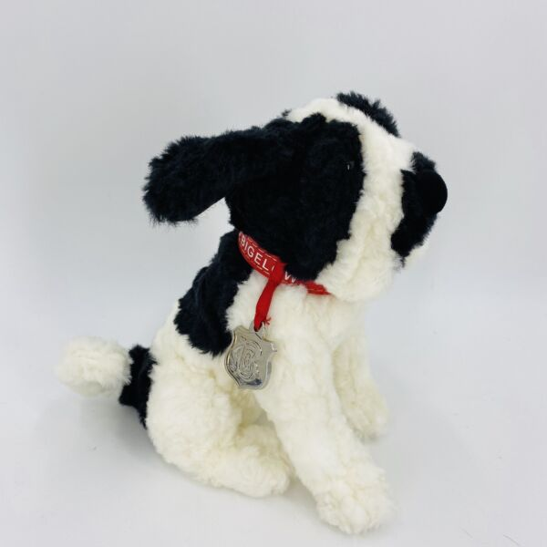 CLARENCE OFFICIAL MASCOT C.O. BIGELOW APOTHECARIES DOG ST. BERNARD PLUSH PUPPY $11.00