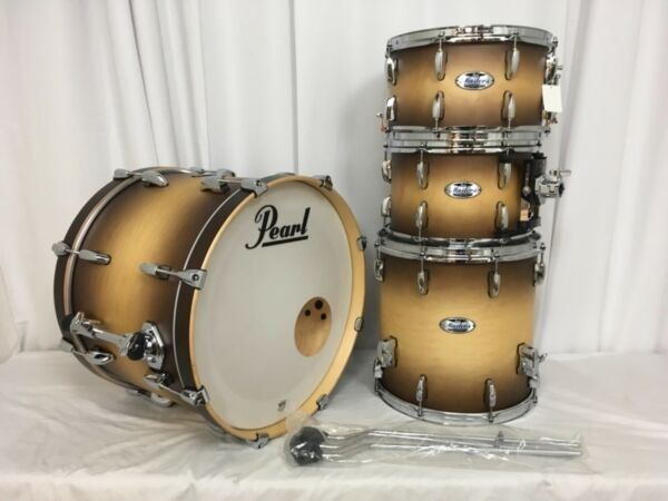Pearl Masters Complete MCT 4 Piece Drum Kit W-13