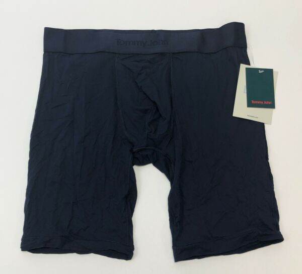 Tommy John Light Air Boxer Brief in Dress Blue Men#x27;s Size Large NEW