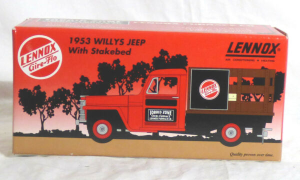 SpecCast Lennox 1953 Willys Jeep with Stakebed 1 25 New $27.96