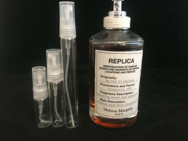Replica By the Fireplace Glass Decant 123510ml Spray Men EDT