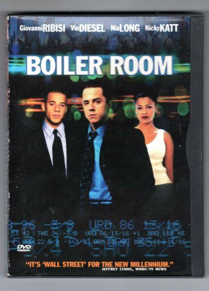 quot;BOILER ROOMquot; DVD. Combined Shipping On Multiple Items. $1.99