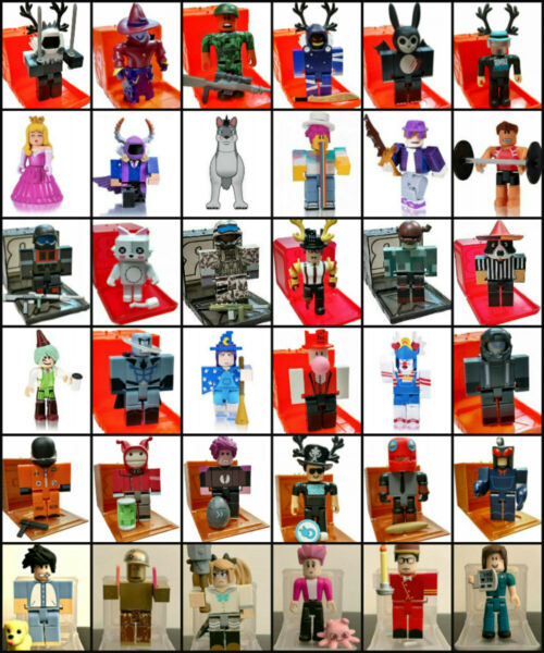 ROBLOX amp; Roblox Celebrity Blind Mystery Figure Series 1 2 3 4 5 6 7 8 WITH CODE