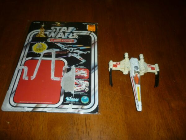 Star Wars Vintage Die Cast X Wing Fighter with the Original Card